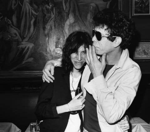 Patti Smith Sulla Morte Di Lou Reed LouReedit