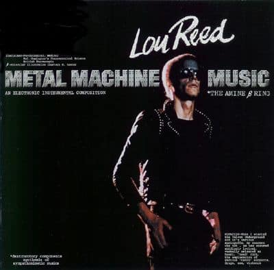 LouReed MetalMachineMusic