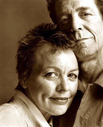 Laurie Anderson e Lou Reed ritratti da Guido Harari