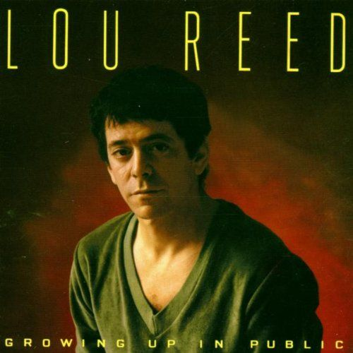 Lou Reed Growing Up in Public cover copertina