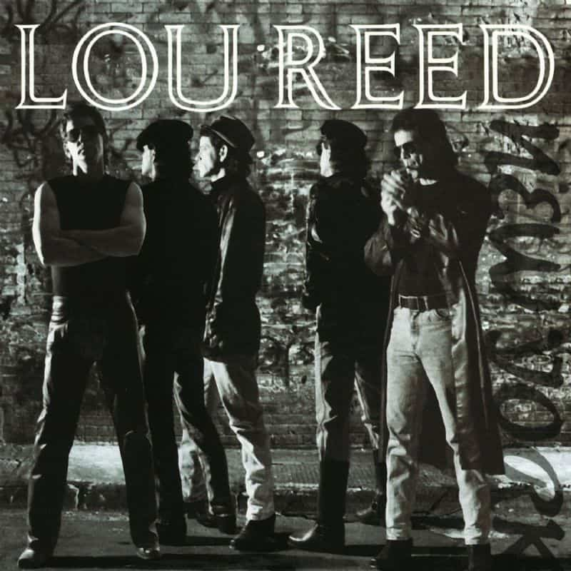 Lou Reed New York cover copertina
