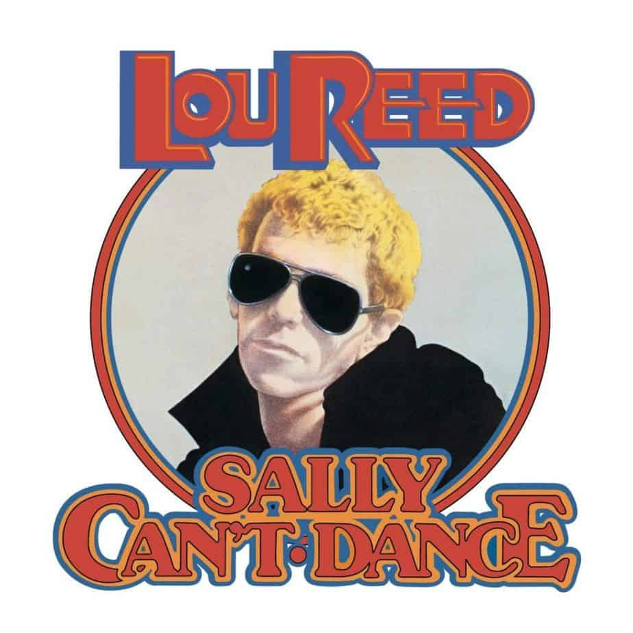 Lou Reed Sally Can't Dance album cover copertina