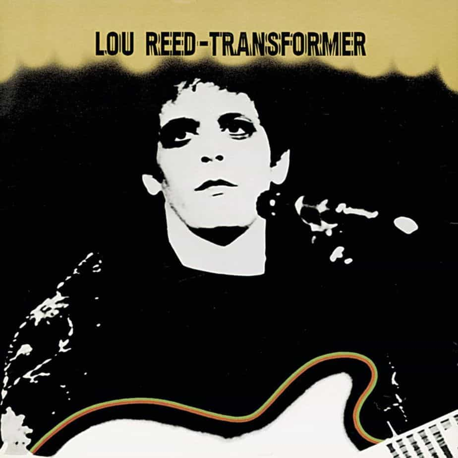 Lou Reed Transformer Cover Copertina