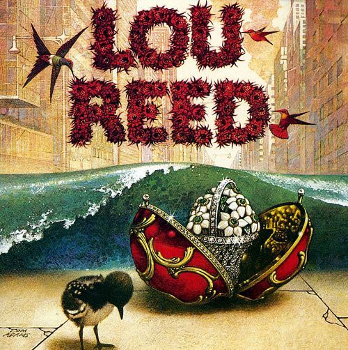 Lou Reed first album cover primo album
