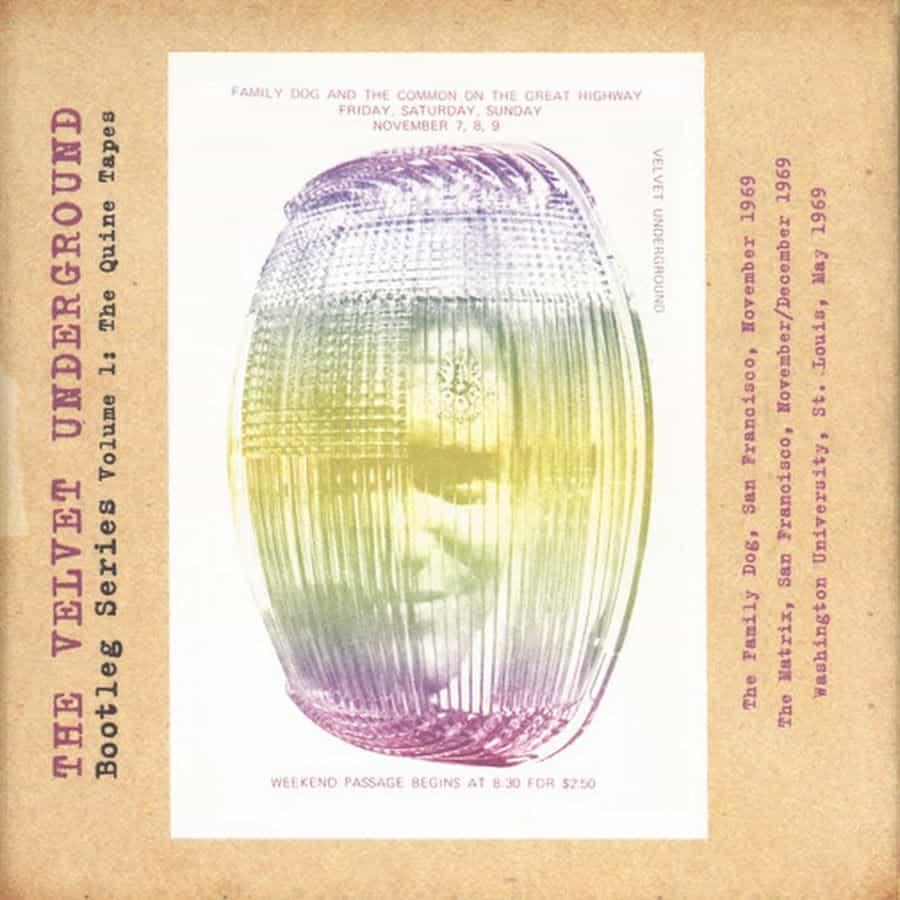 velvet underground quine tapes bootleg series cover copertina