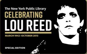 Lou Reed Archive New York Public Library 2