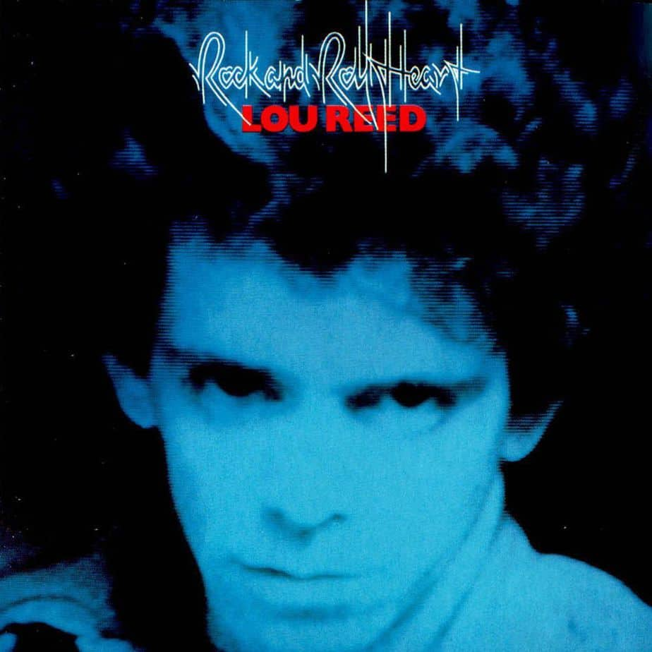 lou reed rock and roll heart copertina cover