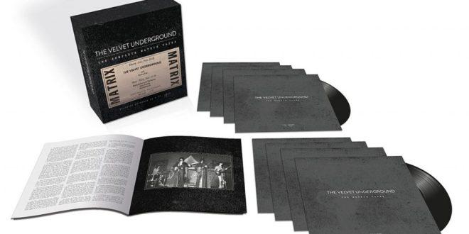 Velvet Underground Matrix Tape Box Cofanetto Vinile Vynil