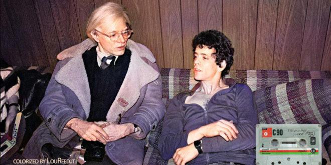 Warhol Lou Reed brani inediti 4