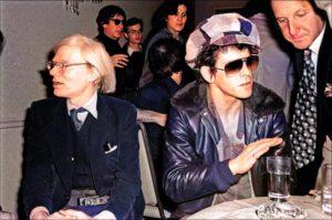 Warhol Lou Reed brani inediti color 1
