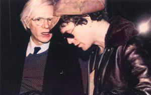 Warhol Lou Reed brani inediti color 2