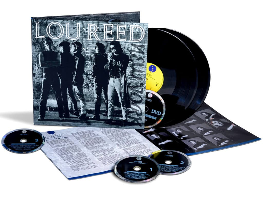lou reed new york box set