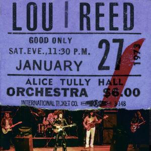 Lou Reed live alice tully vinile RSD vinyl 2