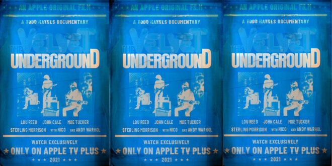 Velvet Underground Todd Haynes documentario poster appletv testata